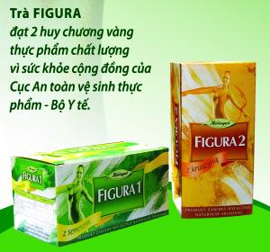 Công dụng vượt trội của trà giảm cân Figura