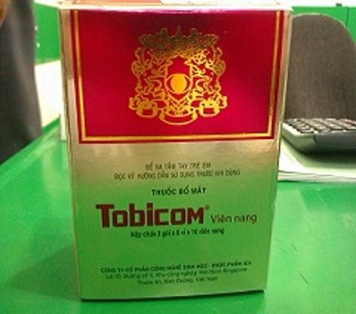 Hướng dẫn sử dụng thuốc bổ mắt Tobicom