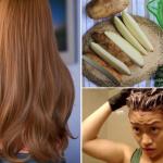 3 cách nhuộm tóc màu vàng bằng nguyên liệu thiên nhiên
