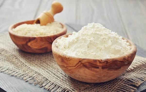 Công thức chăm sóc da bằng bột gạo