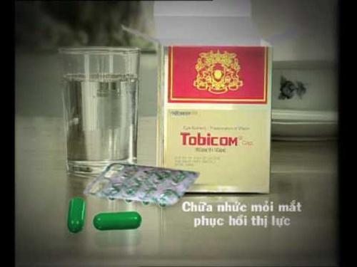 Thuốc bổ mắt Tobicom nên uống trước hay sau khi ăn sẽ tốt hơn?